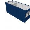 neue-container/buerocontainer-20ft. Bürocontainer mit WC neu